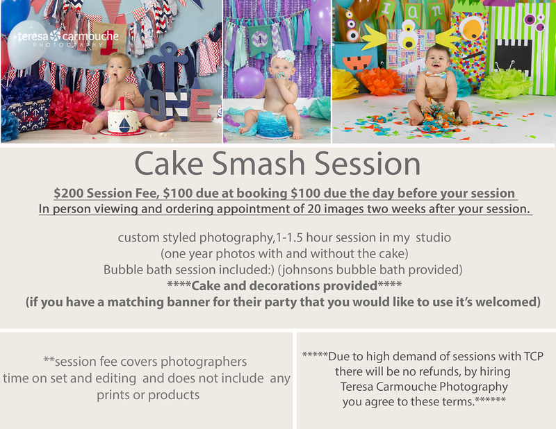 cake smash ONE price guide